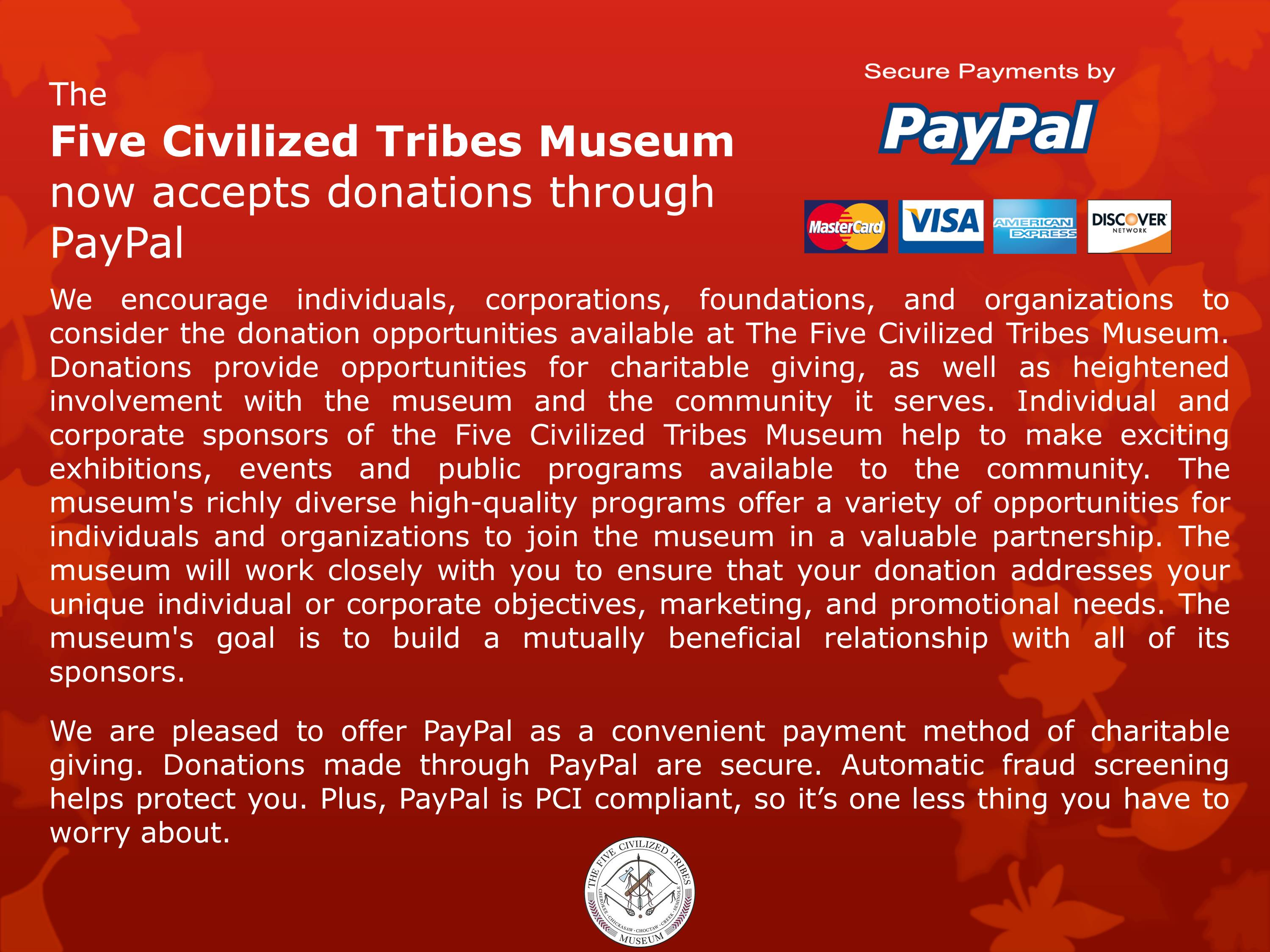 Official Site of the Five Civilized Tribes Museum: Art
